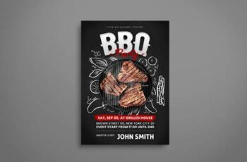 BBQ Flyer 77CL7VY 3