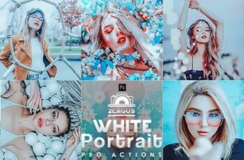 White Portrait Photoshop Actions 27473023 6