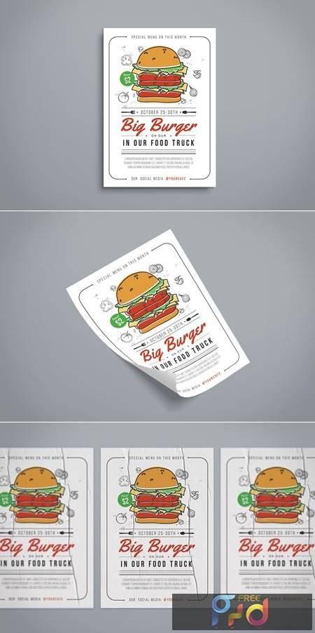 Burger Flyer D5DFGRM 1
