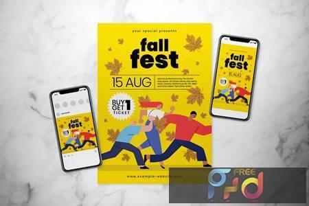 Fall Fest Flyer Set 6RRUZS6 1