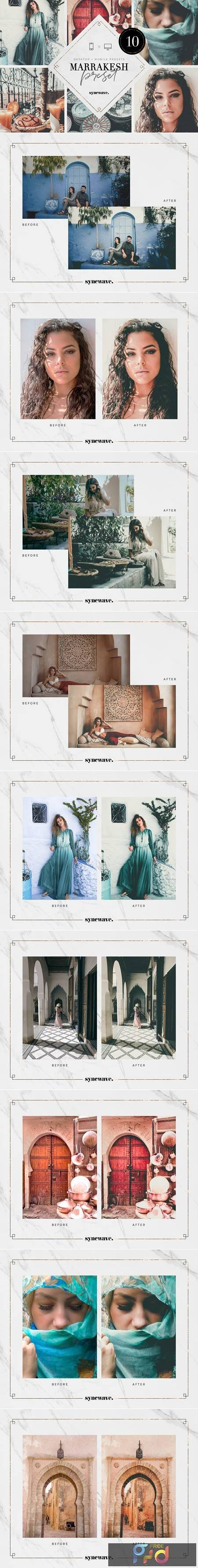 Marrakesh Lightroom Presets Bundle 5251798 1