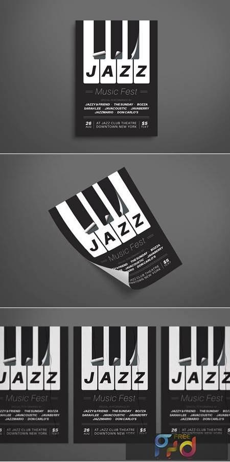 Jazz Music Flyer 9L2SFNK 1