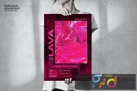 Music Event - Big Poster Design 3GWUEBC 1