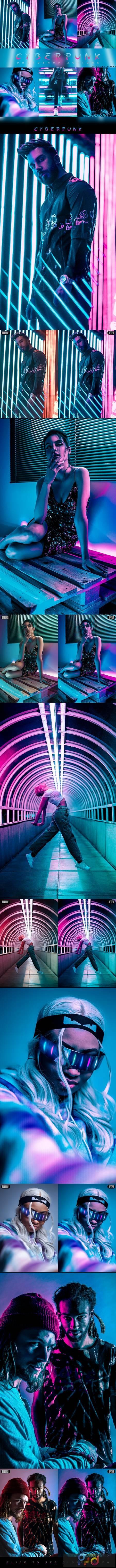 Cyberpunk - Photoshop Action 27556994 1