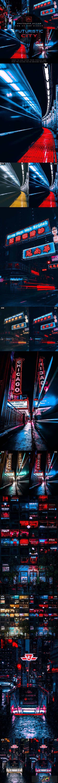 Futuristic City - Photoshop Action 27391328 1