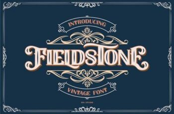 FIELDSTONE - LAYERED FONTS 5200941 2
