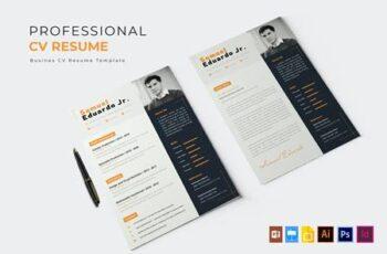 Professional Job - CV & Resume SMFY4HA 4