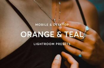 Orange & Teal Lightroom Presets 28339245 3