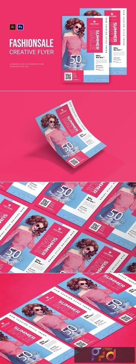 Fashion Sale - Flyer 5P6ZN9E 1