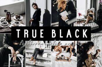 TRUE BLACK LIGHTROOM MOBILE PRESETS 4926931 2