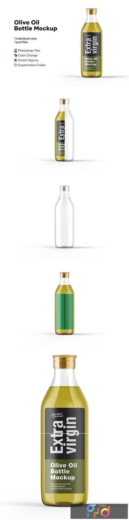 Olive Oil Bottle Mockup 5276739 1