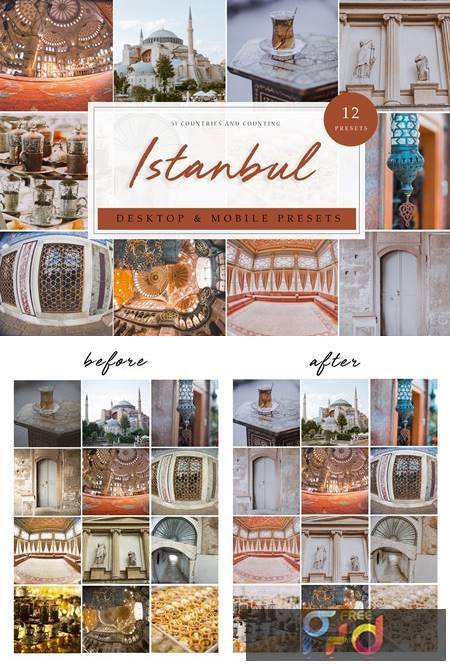 12 x Lightroom Presets - Istanbul 3912143 1