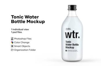 Tonic Bottle Mockup 5276734 3