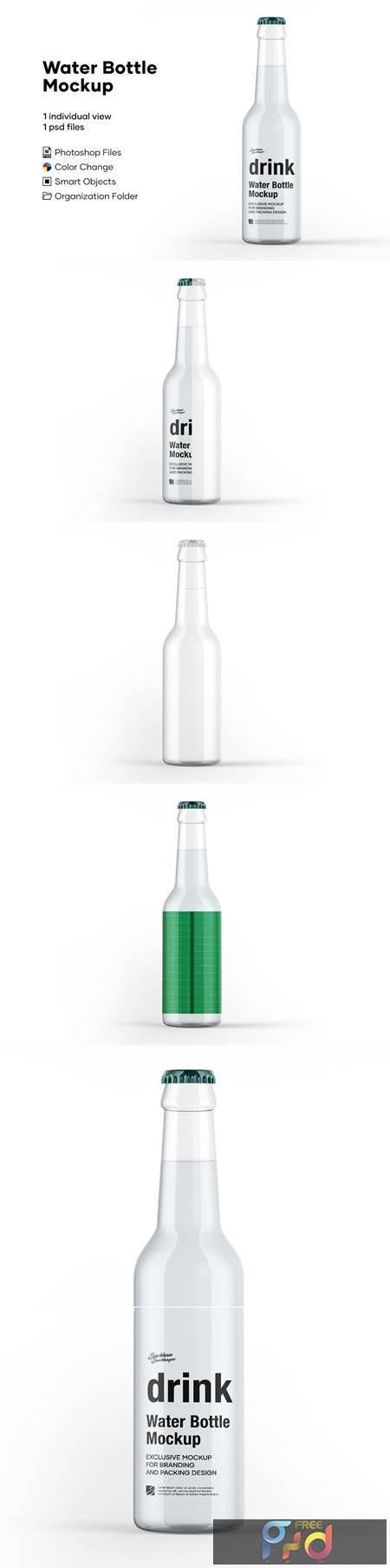Water Bottle Mockup 5276721 1