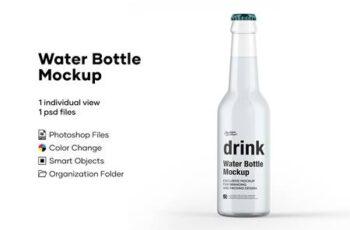Water Bottle Mockup 5276721 4