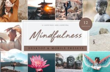 12 x Lightroom Presets - Mindfulness 3912149 5