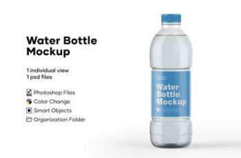 Water Bottle Mockup 5276723 6