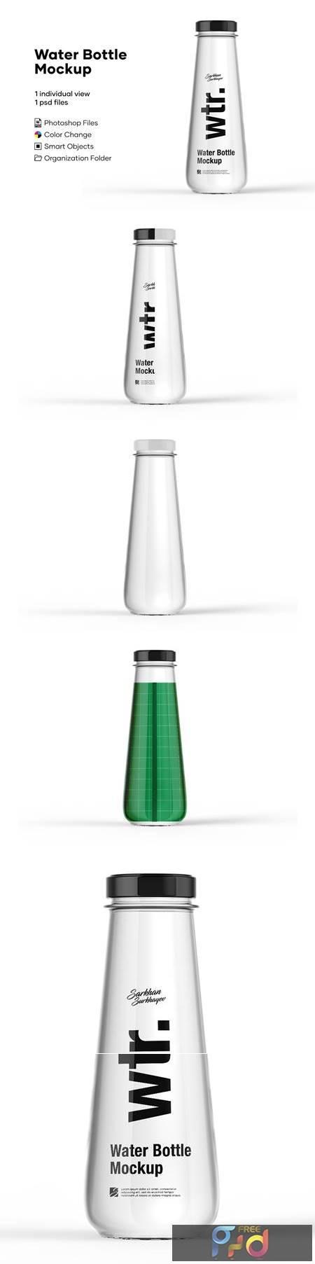 Water Bottle Mockup 5276738 1