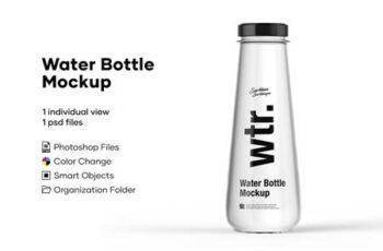 Water Bottle Mockup 5276738 4