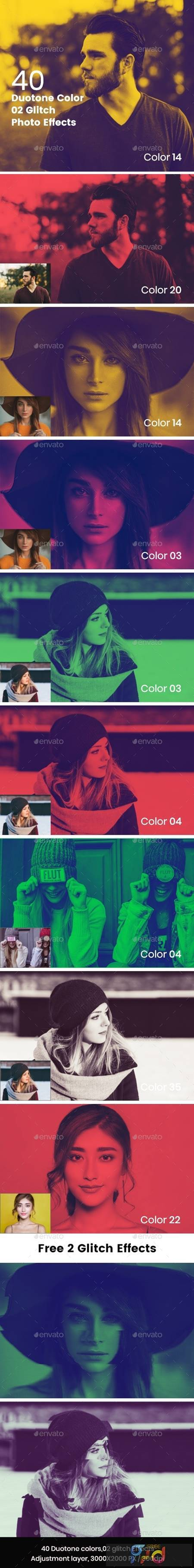 Duotone Color Effects Photo Template 27693687 1