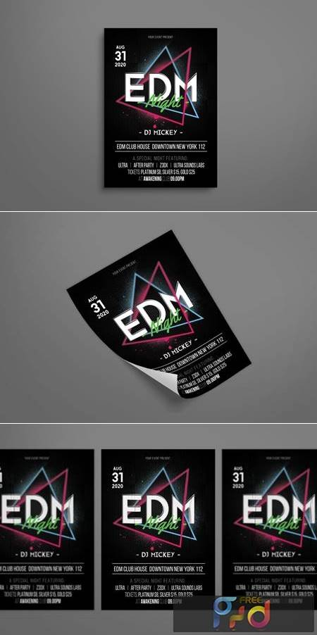 EDM Music Party E9DU75X 1