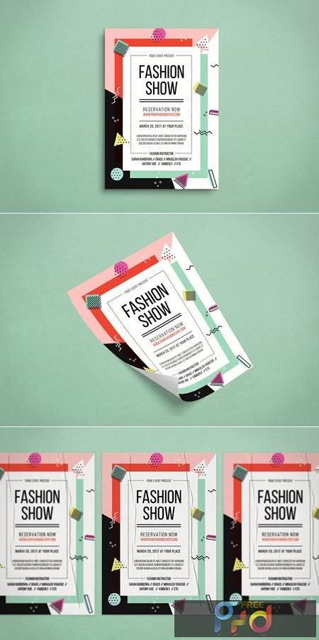 Fashion Show Flyer 9JX2PEV 1