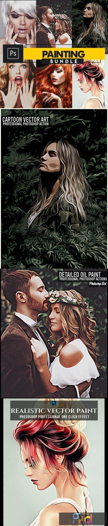 Painting Photoshop Actions Bundle 28379976 1