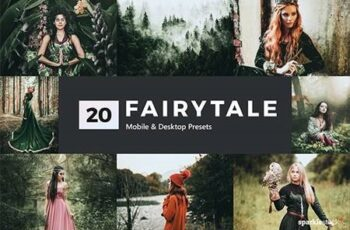 20 Fairytale Lightroom Presets & LUTs 28334845 3