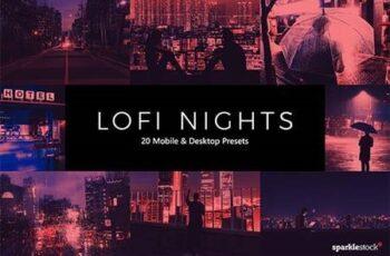 20 LoFi Nights Lightroom Presets & LUTs 28348303 14