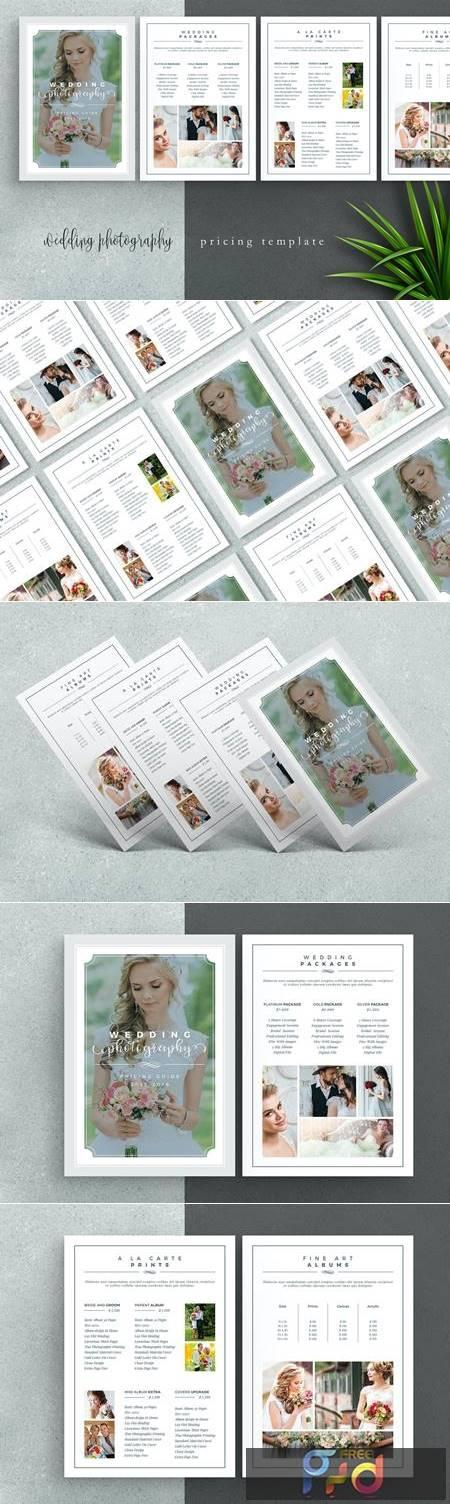 Wedding Photography Price List Template P9ARFEN 1