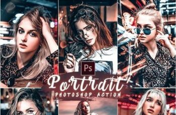 PRO Portrait Photoshop Action 25882181 5