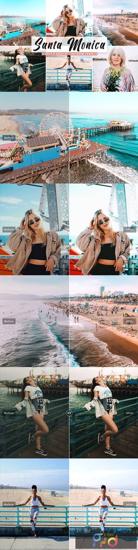 Santa Monica Pro Lightroom Presets 5333867 1