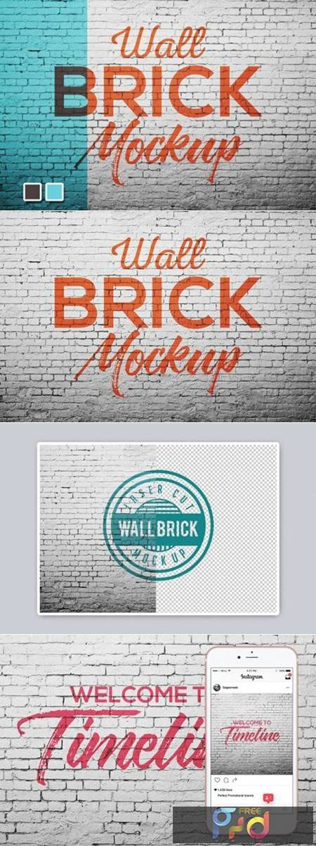 Wall Brick Mock up 5270800 1
