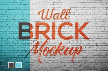 Wall Brick Mock up 5270800 3