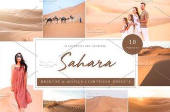 10 Lightroom Presets - Sahara Desert 3918364 5