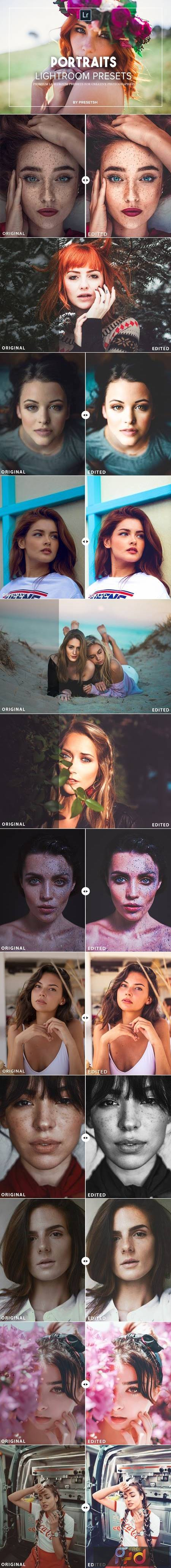 25 Portraits Collection Lightroom Presets 3566282 1