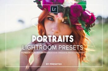 25 Portraits Collection Lightroom Presets 3566282 2