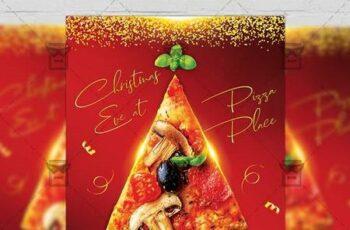 Christmas Eve Party Flyer - Seasonal A5 Template 21243 3