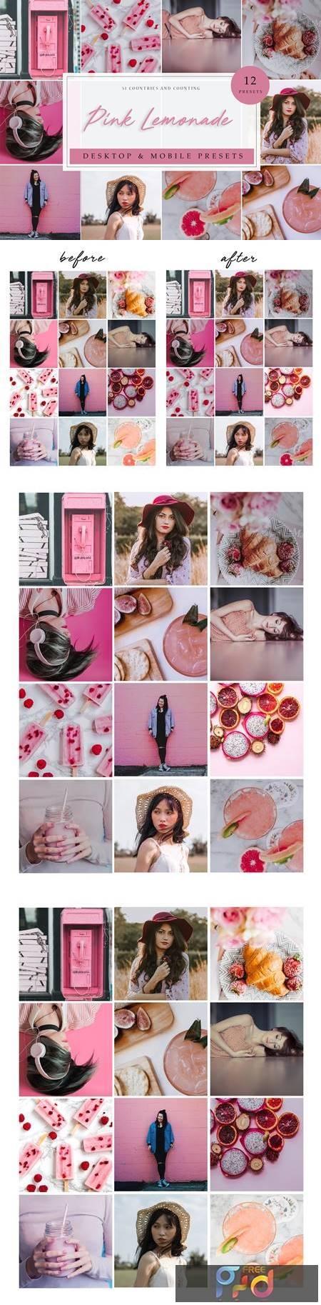 LR Presets - Pink Lemonade 3952516 1