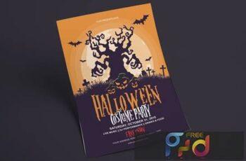 Halloween Flyer - Costume Party FLRW7A 12