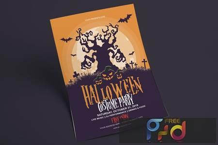 Halloween Flyer - Costume Party FLRW7A 1