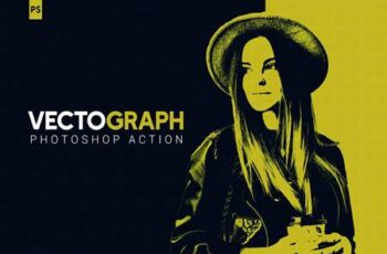 Vectograph Photoshop Action 4959922 5