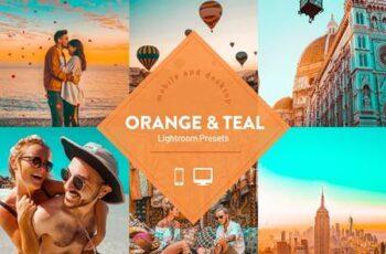 Orange & Teal Lightroom Presets 5331432 5