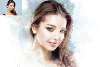 Pencil & Brush CS4+ Photoshop Action 28301610 5