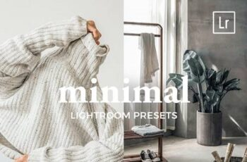 4 Lightroom Presets MINIMAL 4887542 5