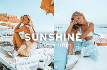 6 SUNSHINE LIGHTROOM PRESETS 4863472 5