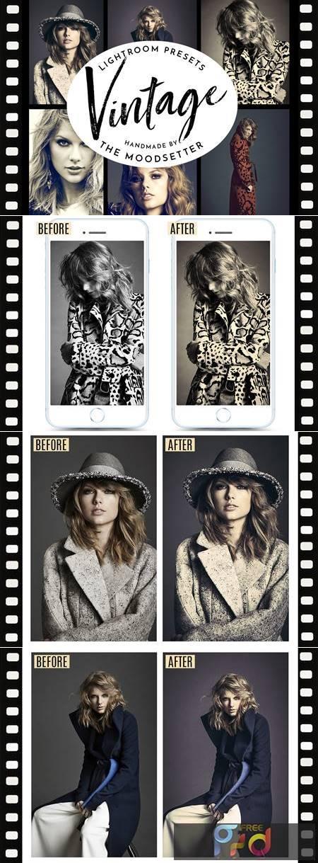 Vintage look Lightroom presets 4886574 1