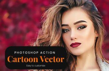 Cartoon Vector - Photoshop Action 4746456 7