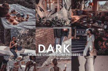 5 DARK MOBILE LIGHTROOM PRESETS 5277258 2