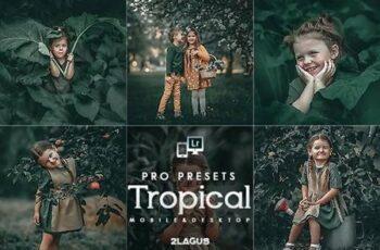 Tropical Lightroom Presets (Mobile & Desktop) 27121241 4